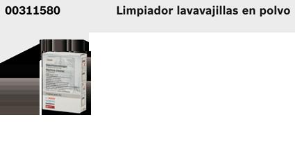 accesorios electrodomésticos limpiador lavavajillas