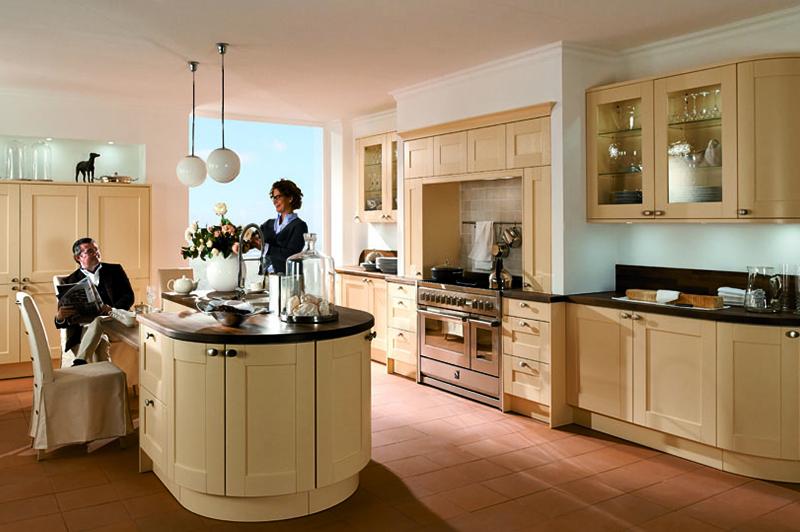 ¡La luz que luce en una cocina!
