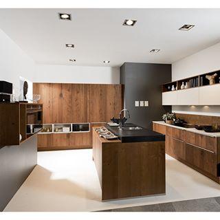 Una cocina de buena madera dirmann m bel k chen - Nolte cocinas ...