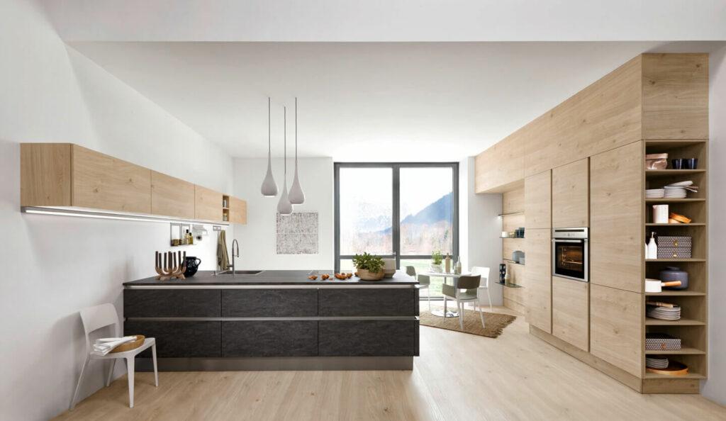 Cocinas Nolte de madera