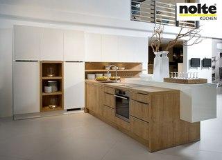 Una cocina de buena madera