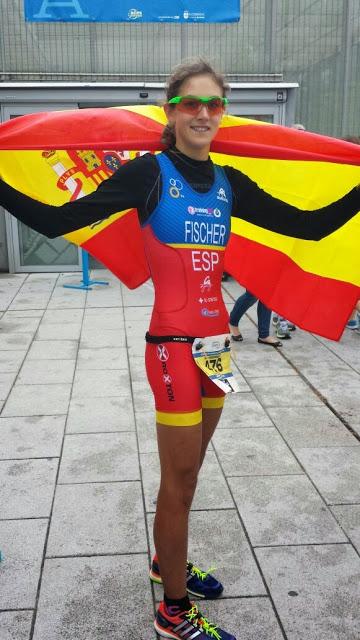 Natalia Fischer, triatleta