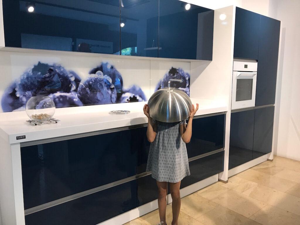 escondite en la cocina