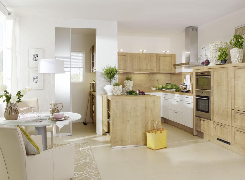 cocina madera Nolte