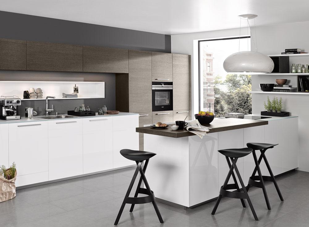 cocinas de diseño con península