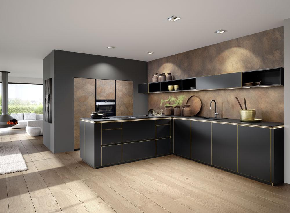 cocina de estilo industrial
