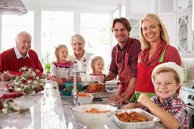 Familia cocina Navidad Nolte Dirmann