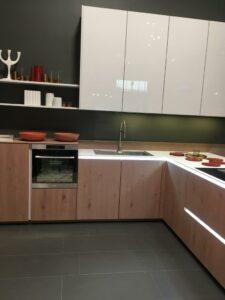 cocina blanca madera Nolte