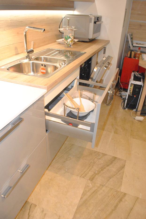 cocina de diseño en liquidación