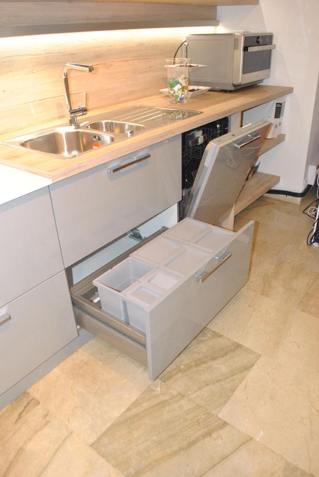 renueva tu cocina, cocina gris de diseño